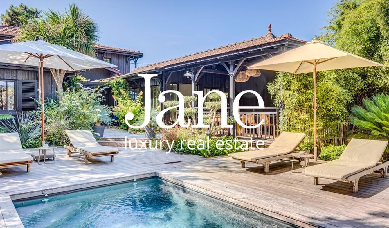 Villa with pool and terrace Lege-cap-ferret