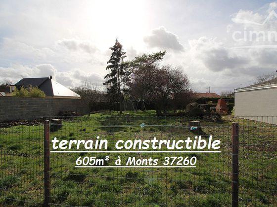 Vente terrain 605 m2