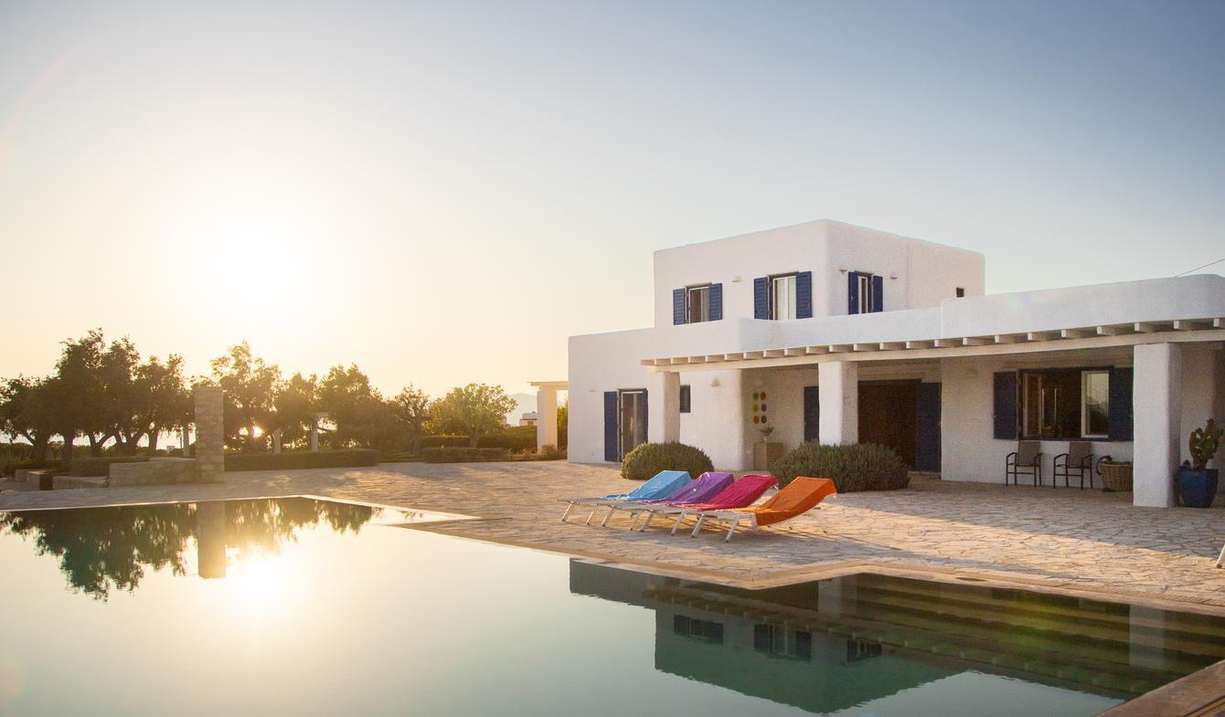 Villa avec piscine Parikiá