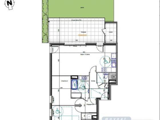 Vente appartement 4 pièces 78,29 m2