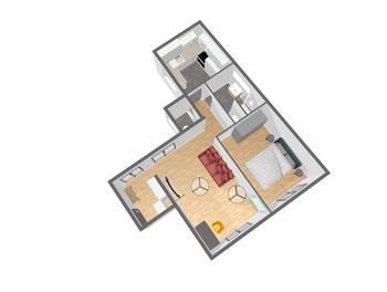 Appartement 2 pièces 45 m2