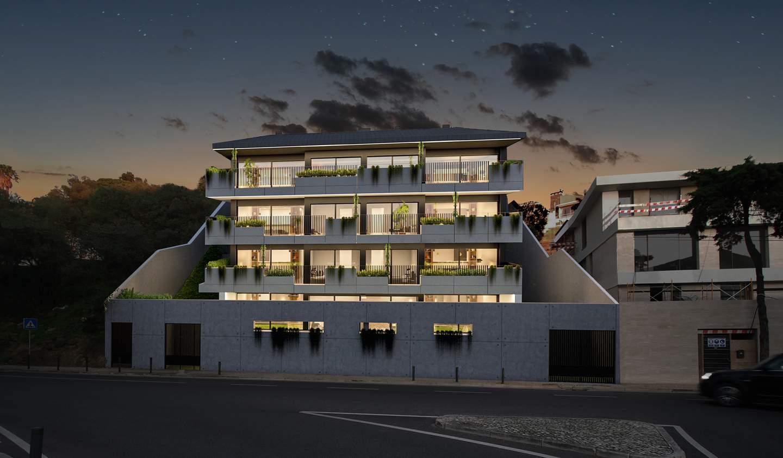 Apartment with terrace Estoril