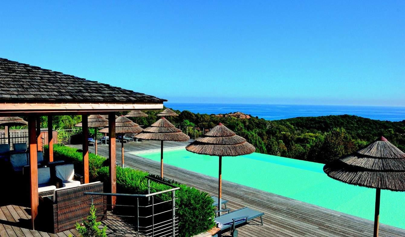 Maison avec piscine en bord de mer Bonifacio