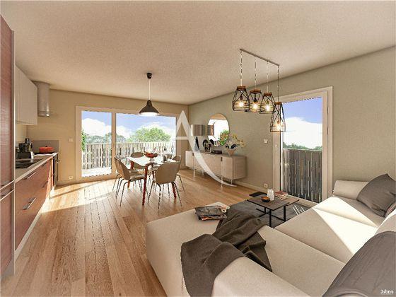 Vente appartement 3 pièces 63,7 m2