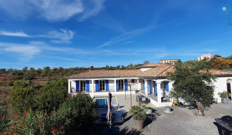 Villa avec piscine et terrasse Aubenas