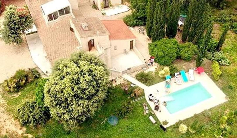 Maison avec piscine et terrasse Puget