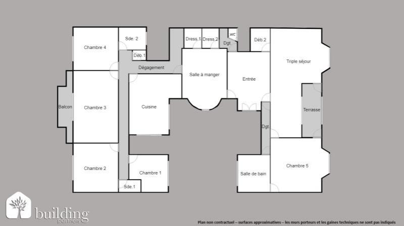 plan appartement 9 pieces