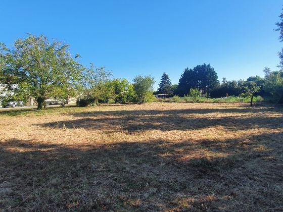 Vente terrain 1450 m2