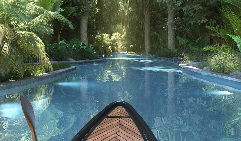 Villa avec piscine en bord de mer Cap Malheureux