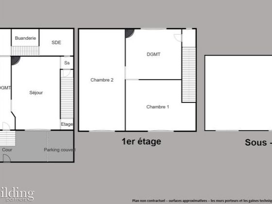 Vente maison 4 pièces 62,26 m2