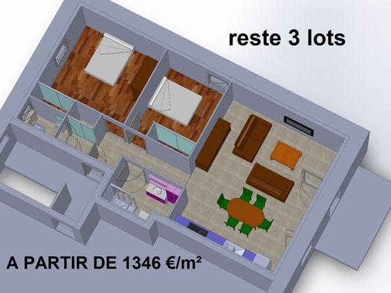 Vente loft 3 pièces 72 m2