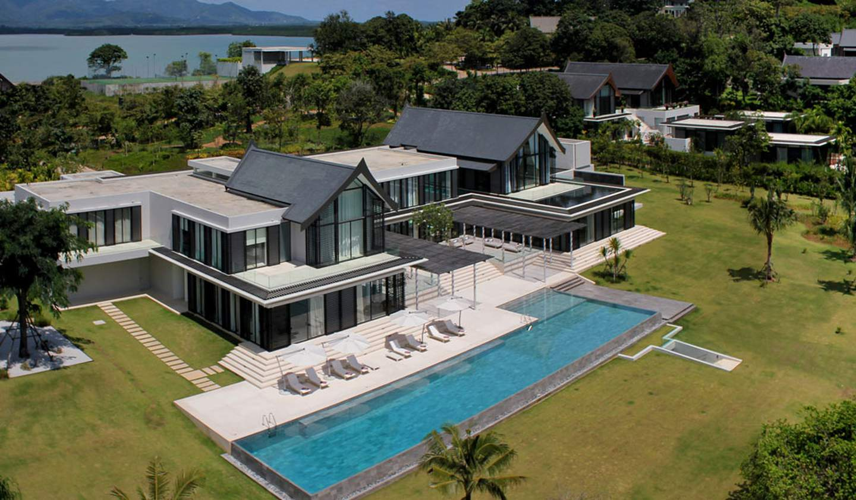 Propriété avec piscine en bord de mer Province de Phuket