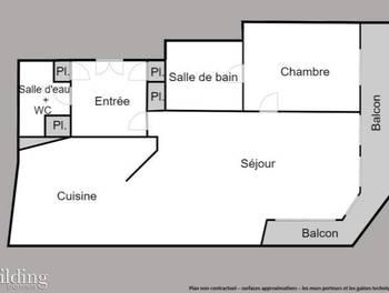 Appartement 3 pièces 67,26 m2