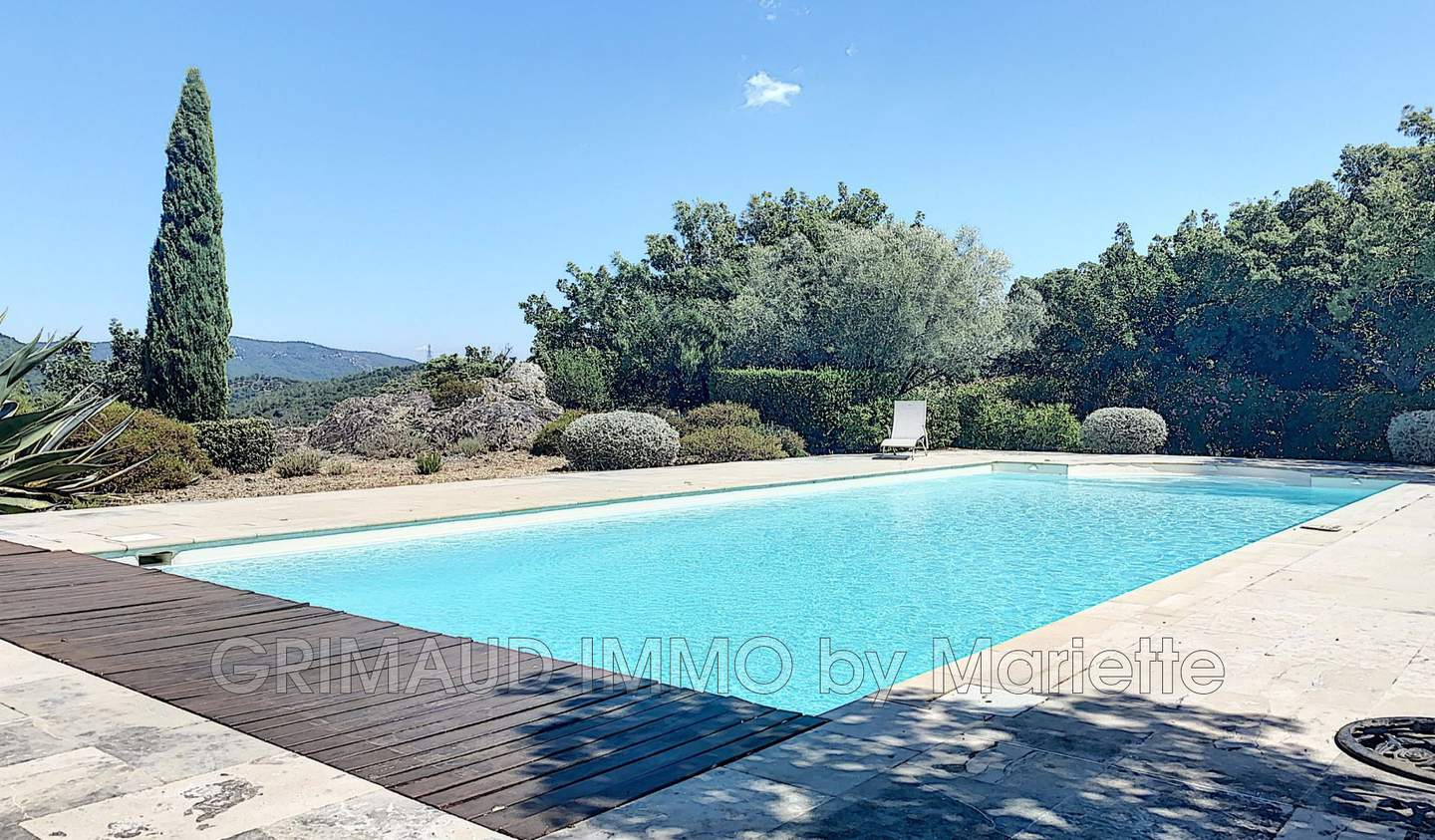 Villa with pool and terrace La Garde-Freinet