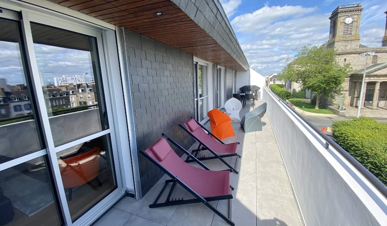Apartment with terrace Saint-Brieuc