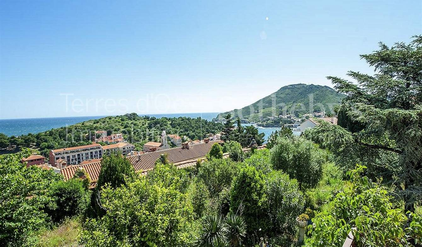 Maison en bord de mer avec terrasse Collioure