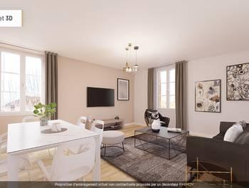 Appartement 2 pièces 50,44 m2