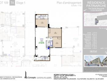 Appartement 5 pièces 100,75 m2