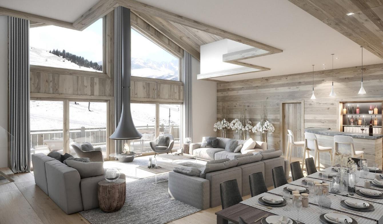 Appartement avec terrasse Courchevel