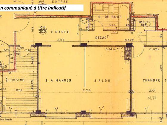 Location appartement 3 pièces 63,54 m2