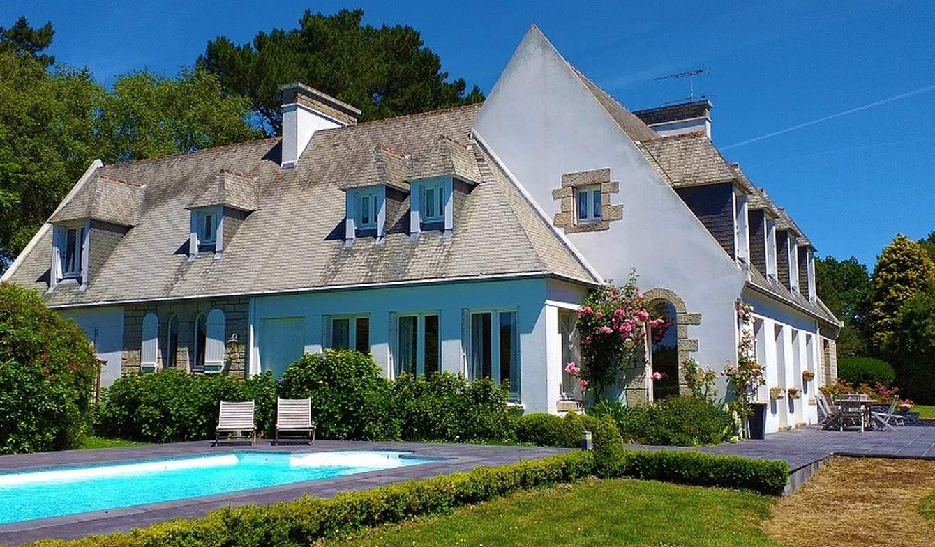 Propriété avec piscine et jardin Pont-l'Abbé