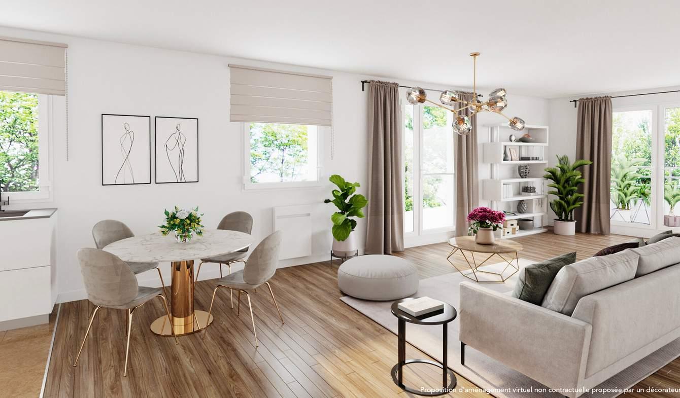 Appartement avec terrasse Paris 20ème