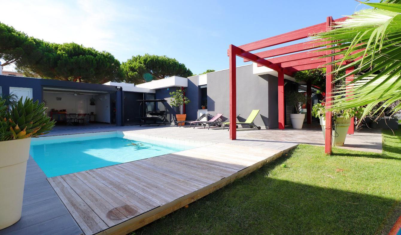 Maison avec piscine et terrasse Canet plage