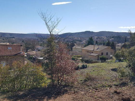 Vente terrain 1129 m2
