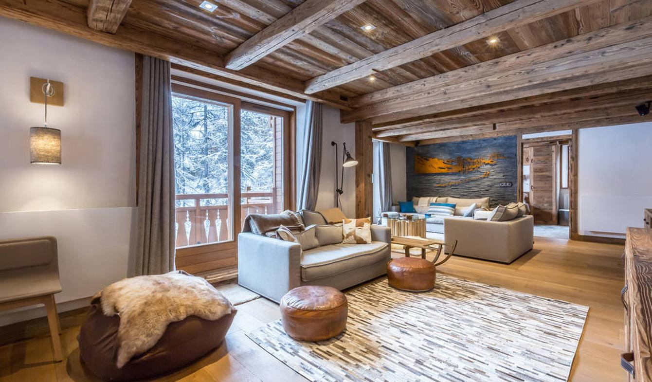Appartement contemporain avec terrasse Val-d'isere