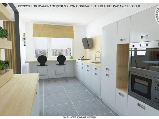vente Appartement 3 pièces 79,12 m2 Lyon 8ème