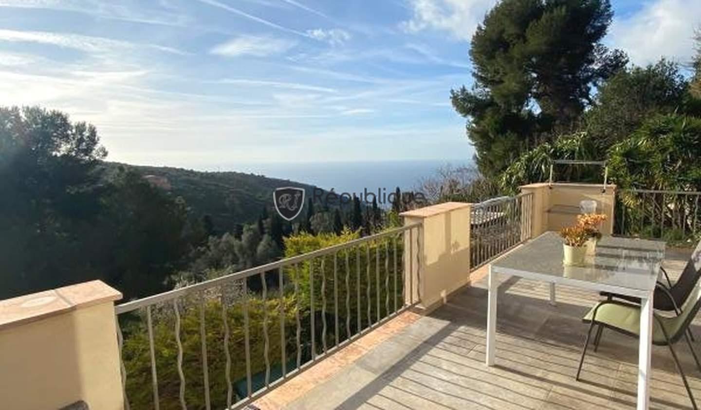 Villa avec piscine et terrasse Eze