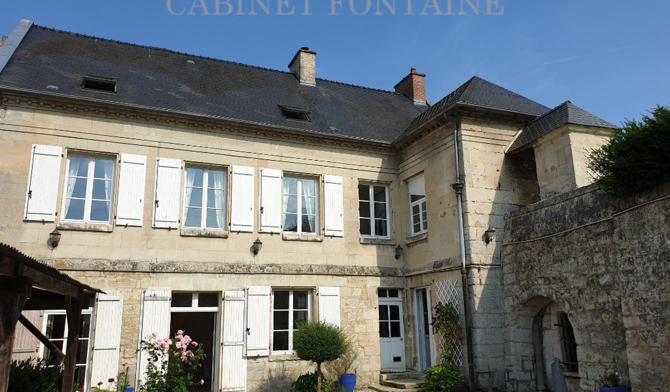 House with terrace Soissons