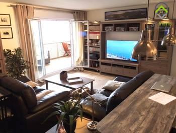 Appartement meublé 3 pièces 67,93 m2