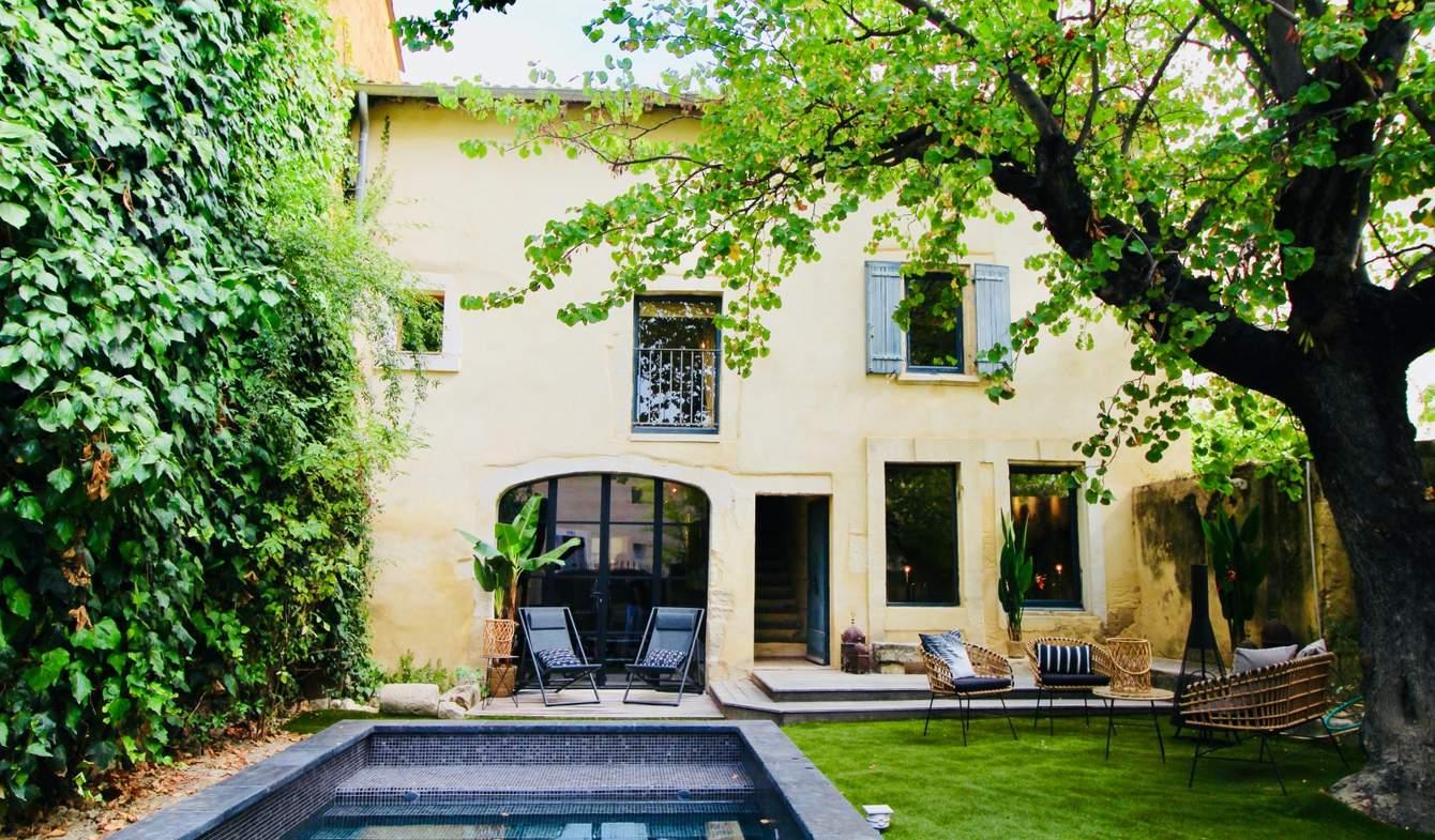 Maison avec piscine et terrasse Maillane