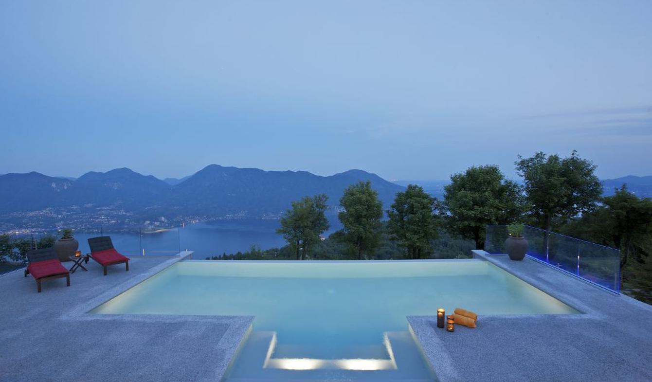 Villa avec piscine et jardin Verbania