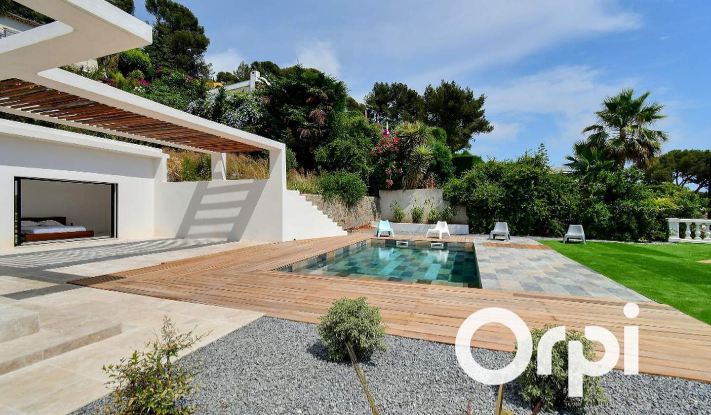 Maison avec piscine et jardin Carqueiranne