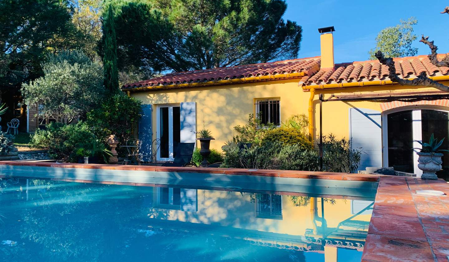 Villa with pool and garden Canohès