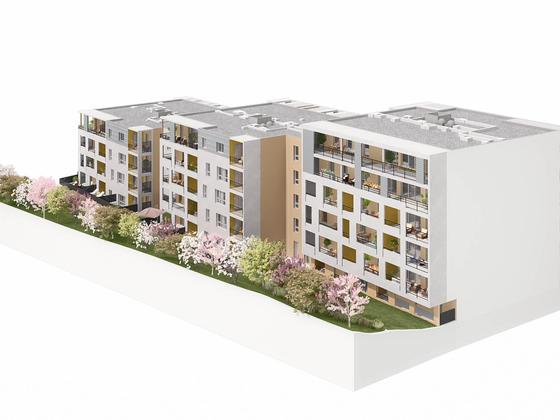 Vente appartement 2 pièces 43,31 m2