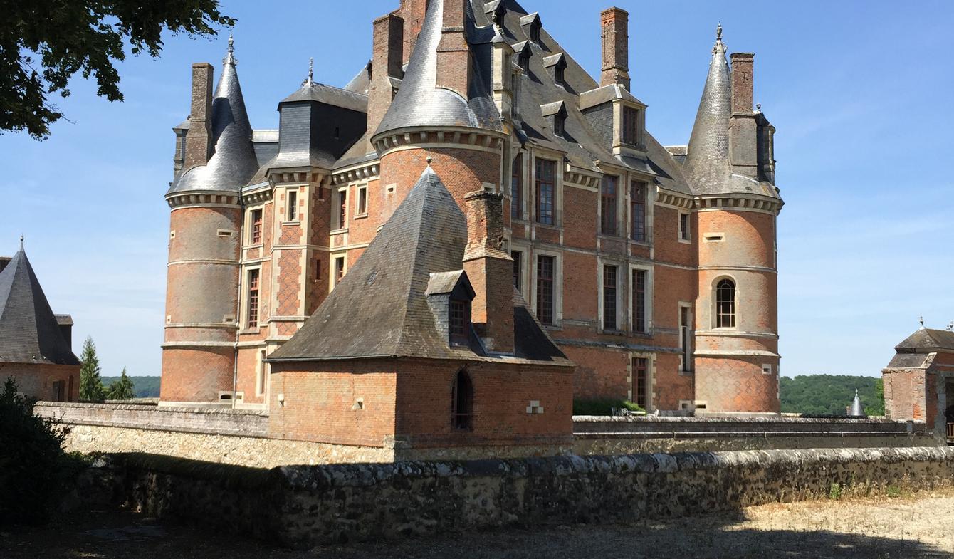 Château classé monument historique Lucy