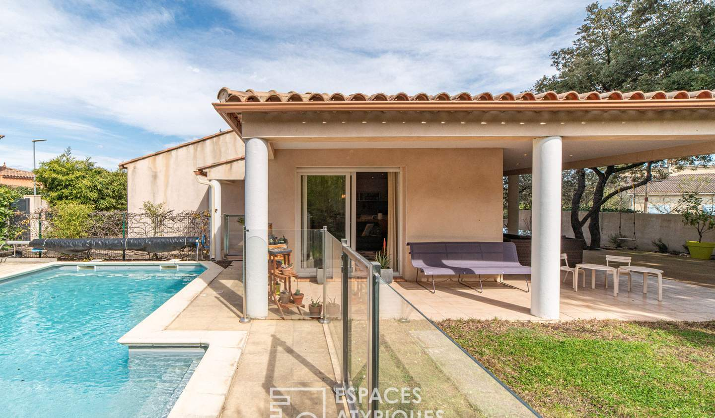 House with pool Nimes