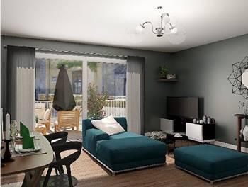 Appartement 2 pièces 53,4 m2