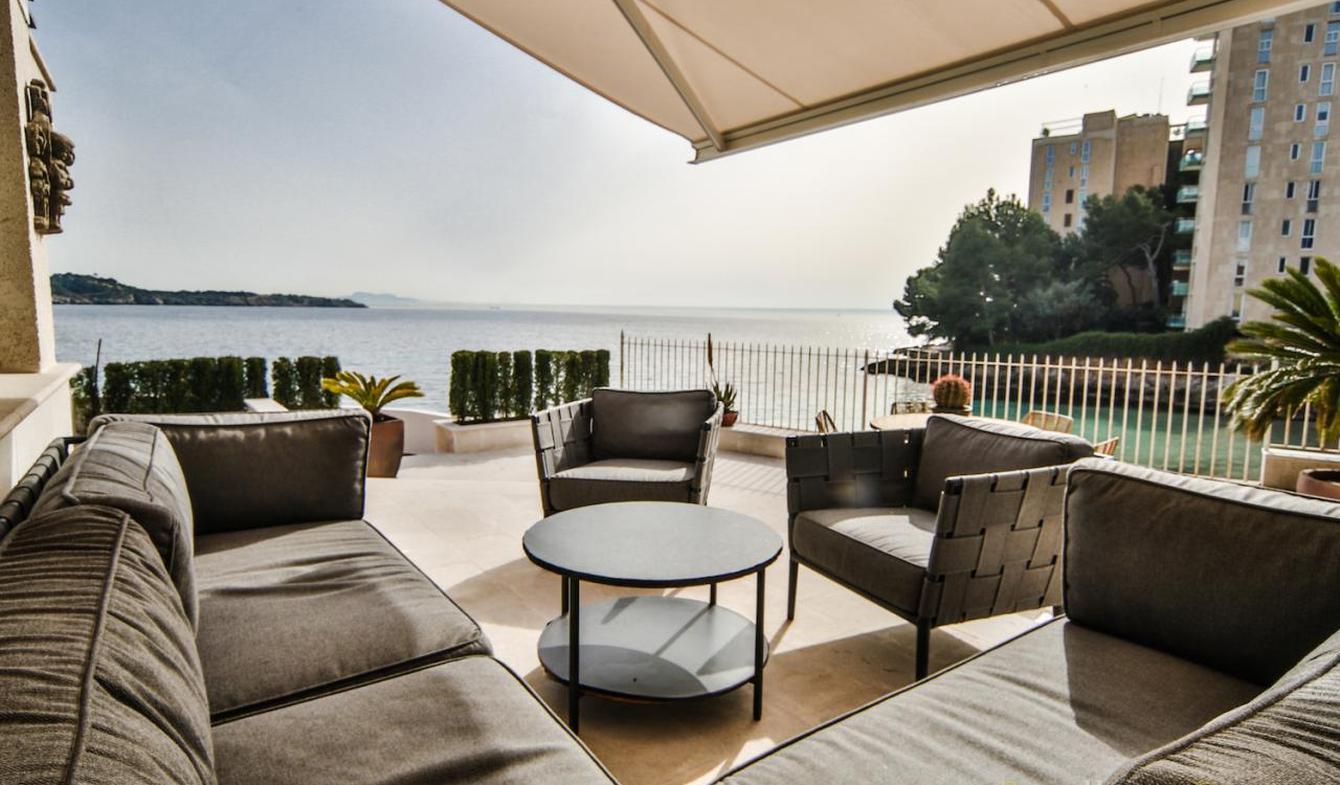 Appartement avec terrasse en bord de mer Majorque