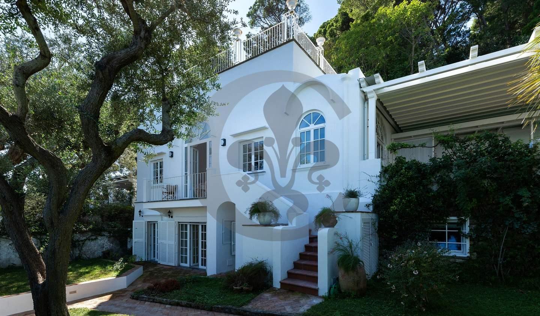Villa en bord de mer avec jardin Anacapri