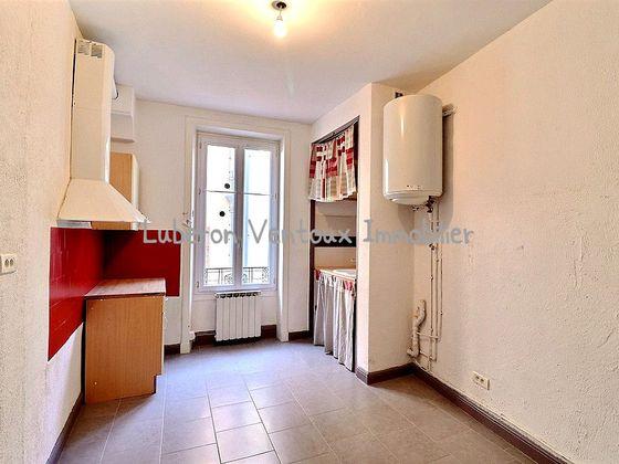 Vente appartement 2 pièces 58,6 m2