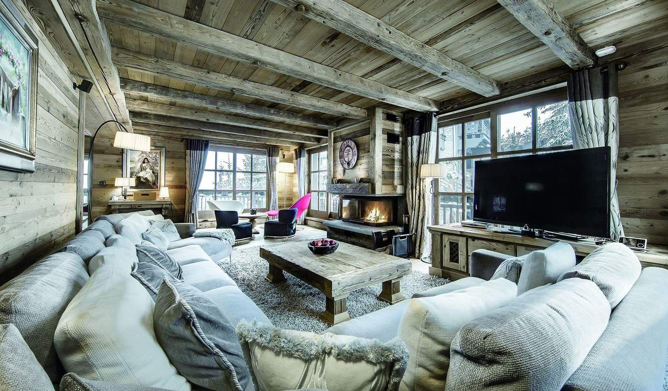 Chalet with pool Courchevel