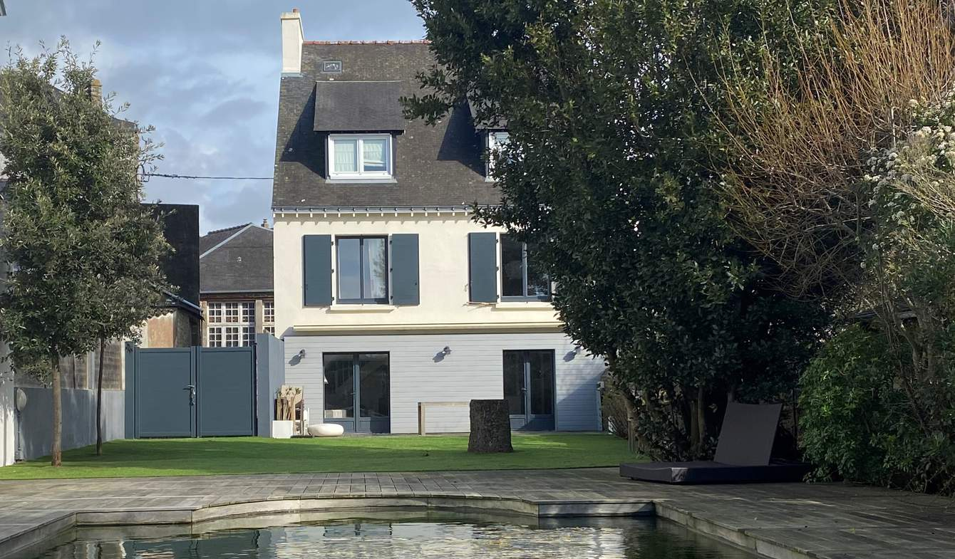 Maison avec piscine et jardin Carnac