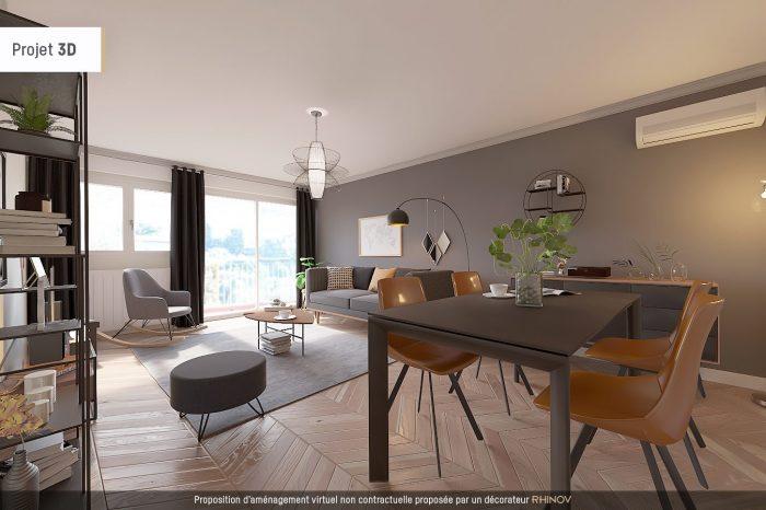 amenagement appartement 61 m2
