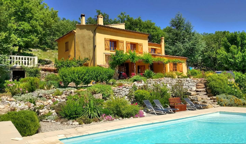 Maison avec piscine Montmeyan