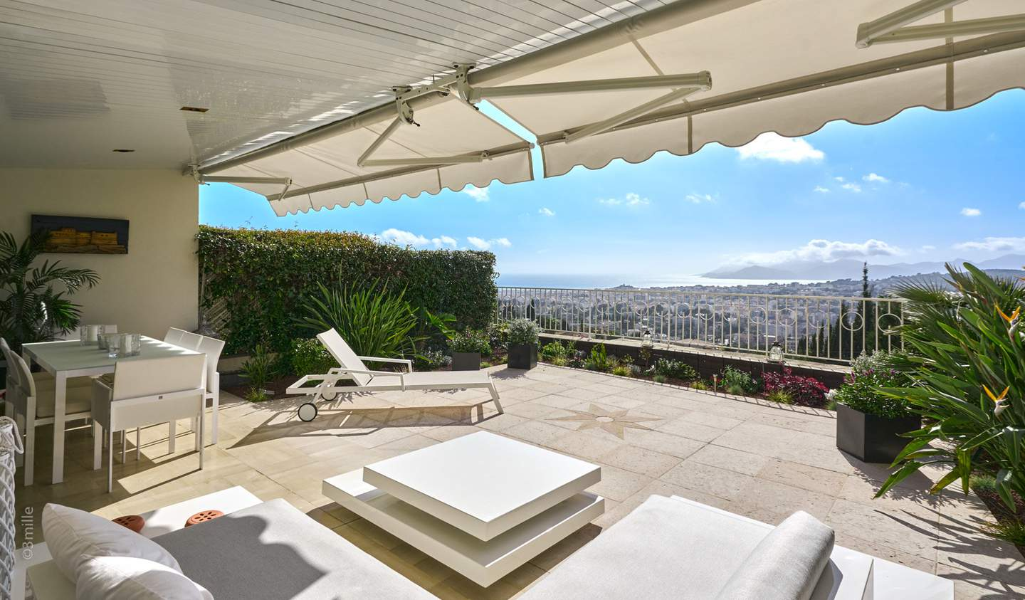 Apartment with terrace and pool Le Cannet