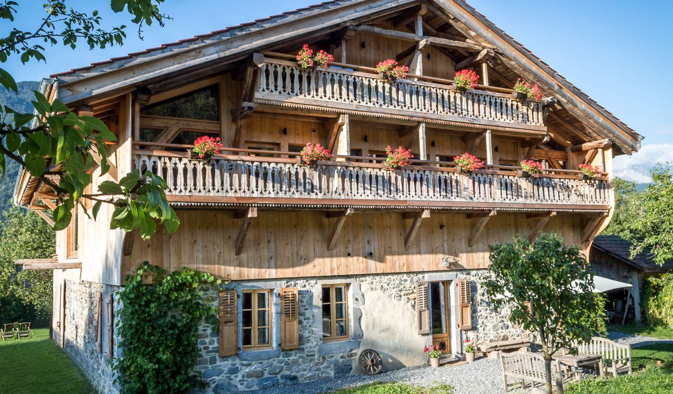 Chalet with panoramic view Morillon